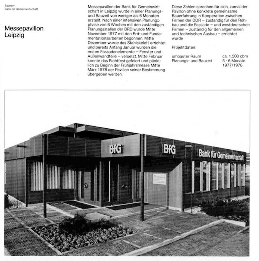 Aus einer Broschüre des Architekturbüros Braun